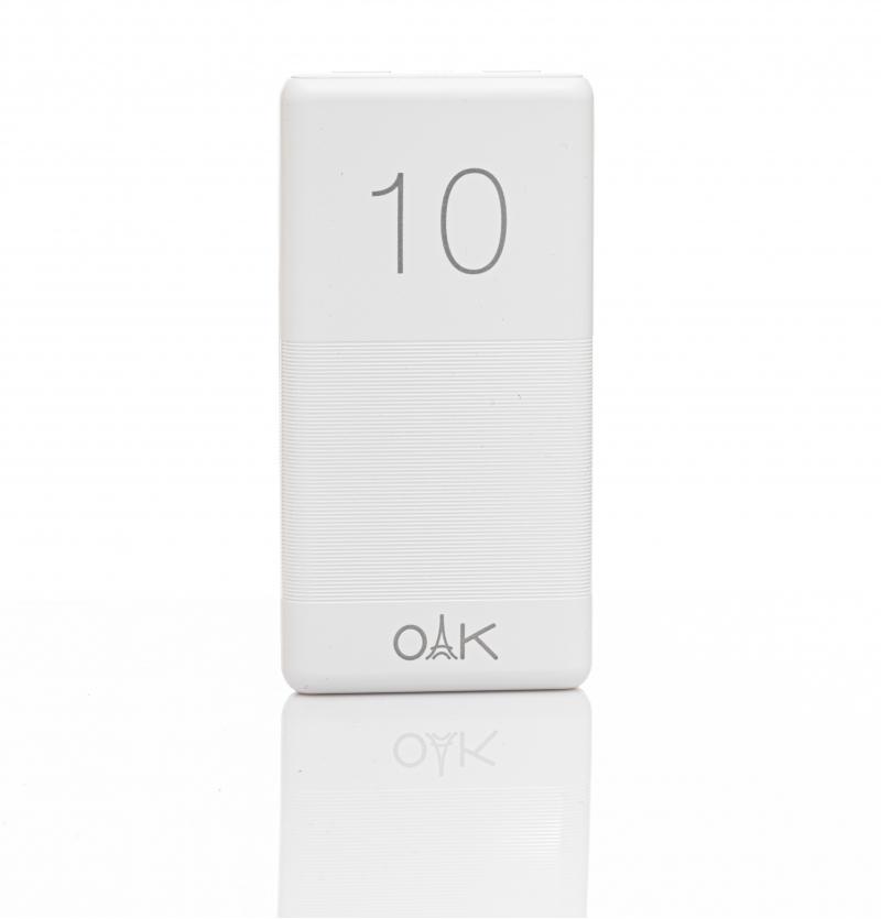 شارژر همراه OAK مدل CLASSIC PC-10 ظرفیت 10000 میلی آمپر ساعت
