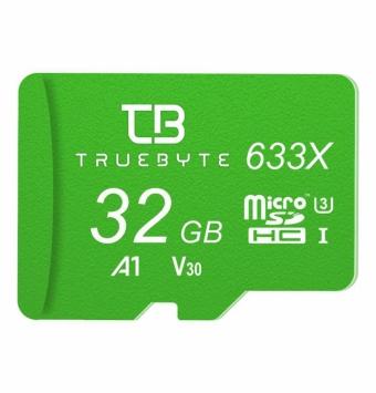 کارت-حافظه-microSD-HC-تروبایت-مدل-633X-A1-V30-کلاس-10-استاندارد-UHS-I-U3-ظرفیت-32-گیگابایت-همراه-با-کارت-خوان