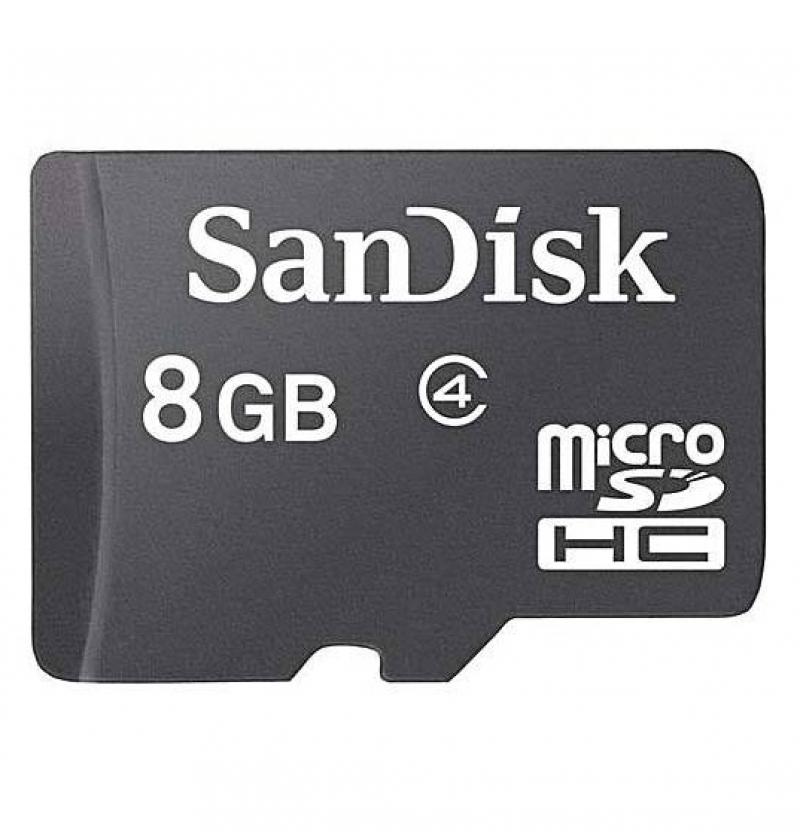 کارت حافظه microSDHC سن دیسک مدل Ultra کلاس 10 استاندارد UHS-I U1 سرعت 98MBps ظرفیت 8 گیگابایت