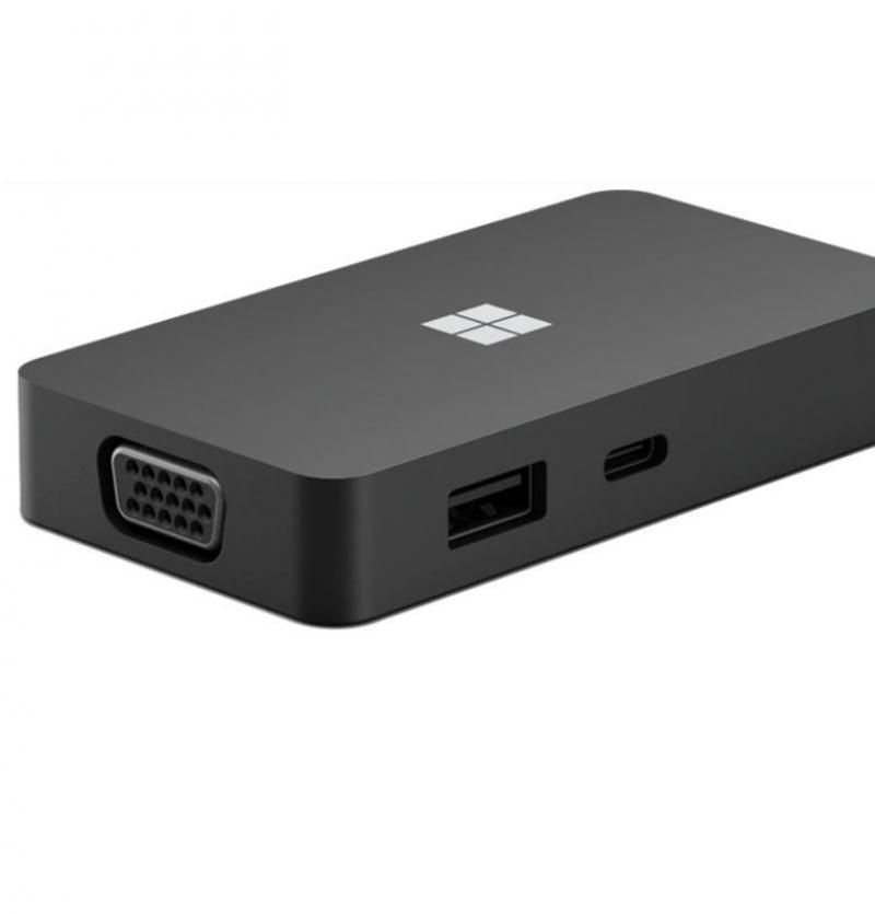 مبدل USB-C به HDMI / VGA / LAN / USB-C / USB-A مایکروسافت مدل Travel Hub