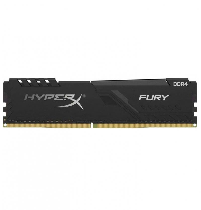 رم کامپیوتر کینگستون مدل HyperX Fury DDR4 2400MHz CL15 ظرفیت 8 گیگابایت