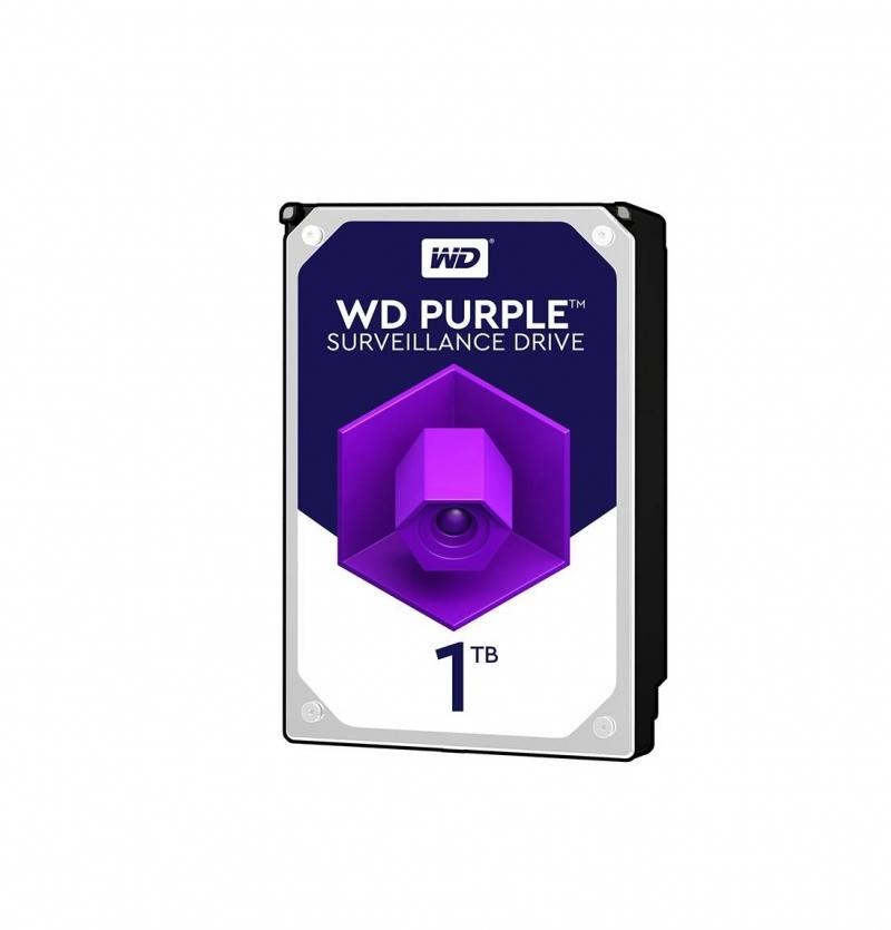 هارد دیسک اینترنال وسترن دیجیتال مدل Purple WD10PURZ ظرفیت 1 ترابایت