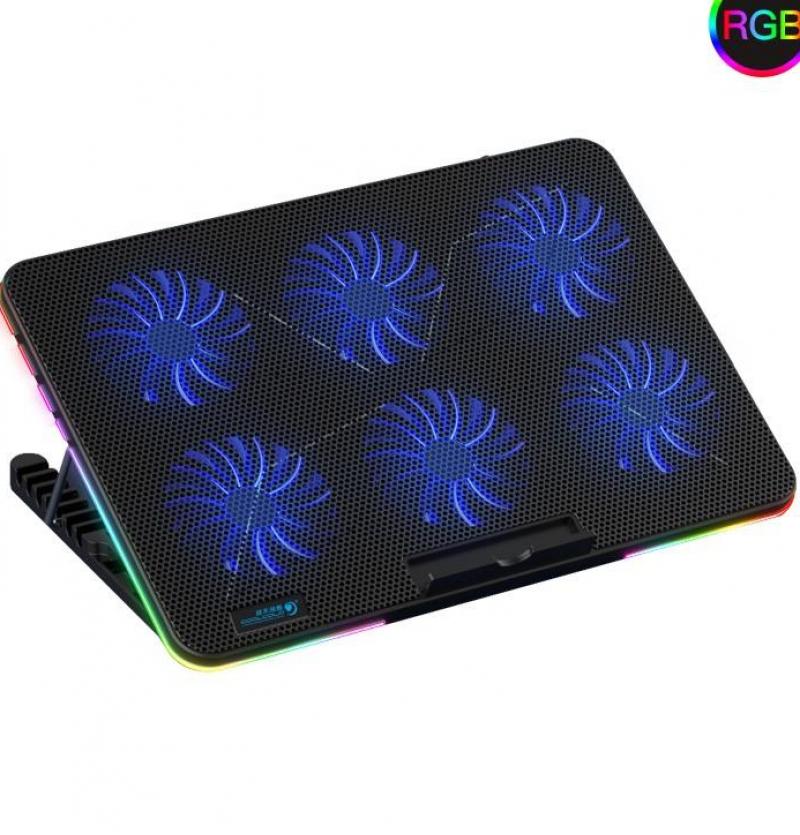 پایه خنک کننده لپ تاپ کول کلد مدل F5-RGB