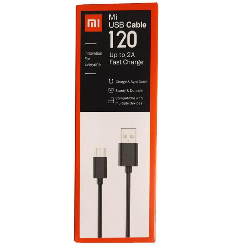 کابل تبدیل USB به microUSB شیائومی مدل mi12 طول 1.2 متر