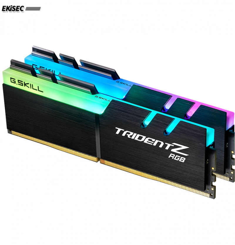 رم دسکتاپ DDR4 دو کاناله 3200 مگاهرتز CL16 جی اسکیل سری TRIDENT Z RGB ظرفیت 16 گیگابایت بسته دو عددی