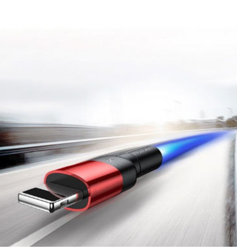 کابل تبدیل USB به لایتنینگ باسئوس مدل CALKLF-HG1 Cafule Special Edition طول 2 متر